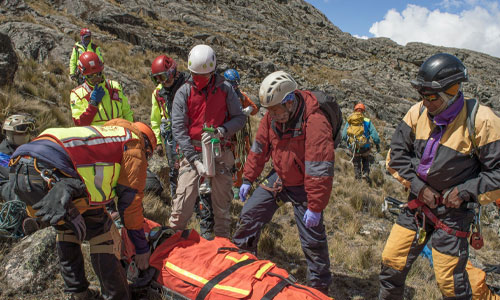 mountain rescue - About